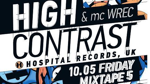 MC Wrec и High Contrast в лудо парти