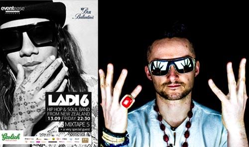 Ladi 6 и DJ Vadim в Mixtape 5