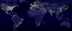 Осветлението на Земята