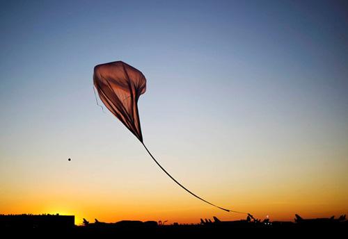Балонът с хелий