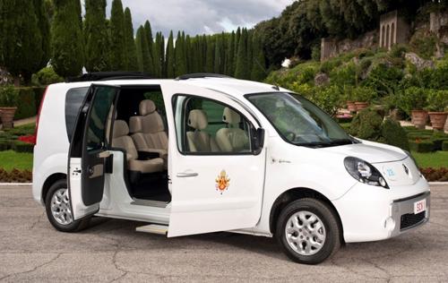 Електрическият автомобил на папата