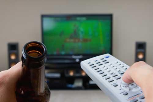 Мач по телевизията