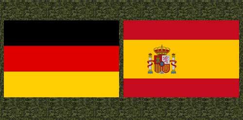 Германия срещу Испания