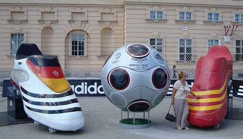 Германия срещу Испания: Евро 2008