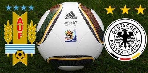 Уругвай срещу Германия