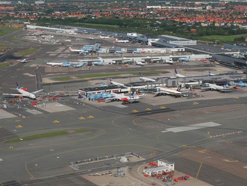 Летището в Копенхаген