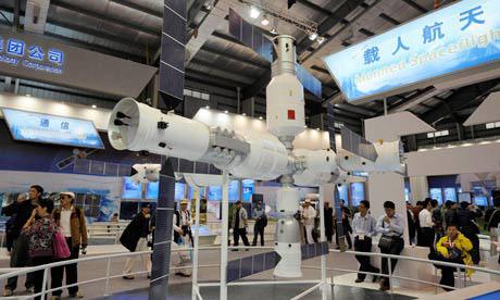 Моделът на китайската космическа станция