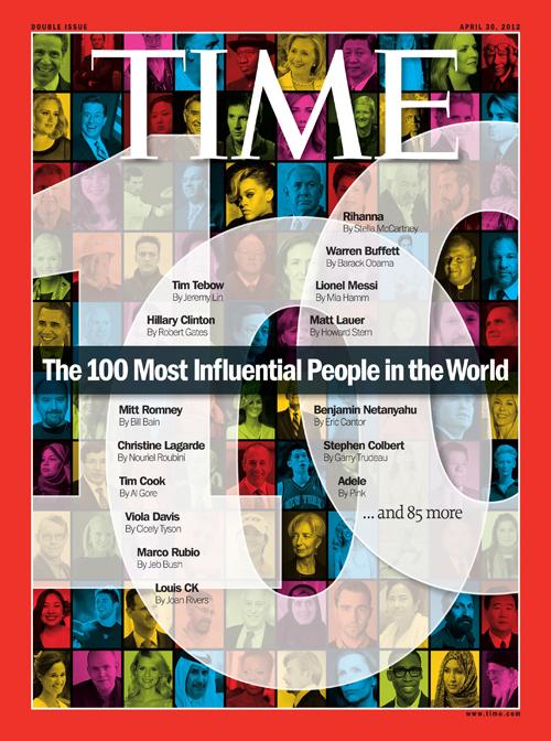 100-те най-влиятелни личности в света за 2012