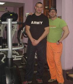 Ст. л-т В. Вълканов и М. Гергов