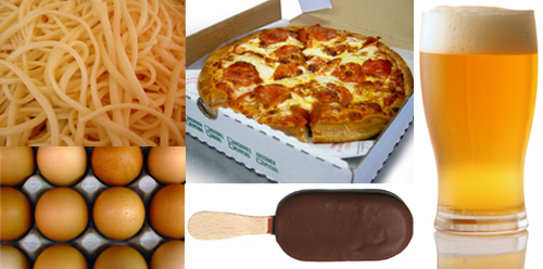 Защо някои олимпийци вечерят с 5000 калории