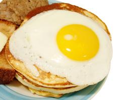 Препечена филия с яйце
