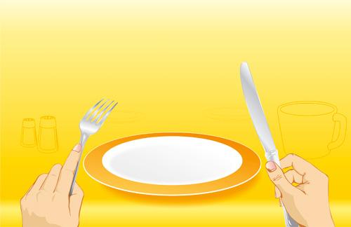 Празна чиния
