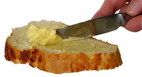 Хляб с маргарин