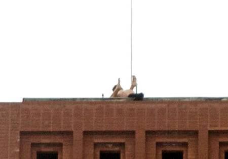Секс на покрива