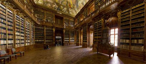 Библиотеката в Прага