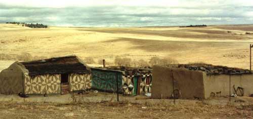 Африкански къщи