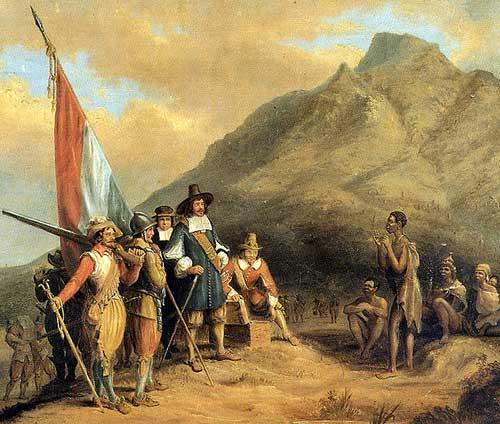 Първите холандски колонизатори