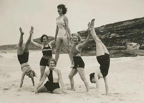 Плаж през 30-те