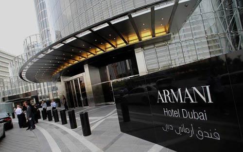 Хотелът на Армани