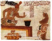 Ваза от класическия период на маите