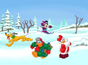 Коледа в стил Дисни
