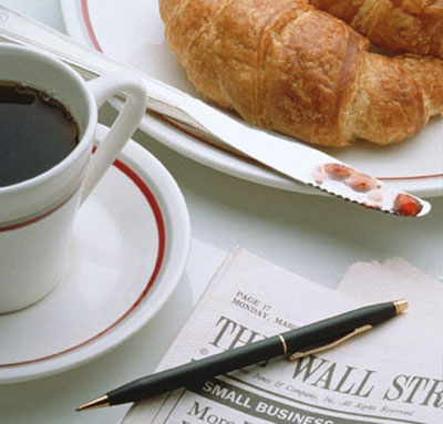 Кафе и вестник