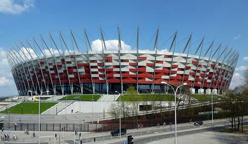 Националния стадион във Варшава
