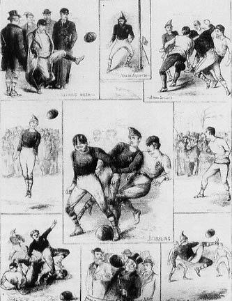 Първият международен футболен мач