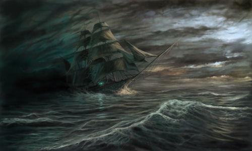 Загадъчният кораб