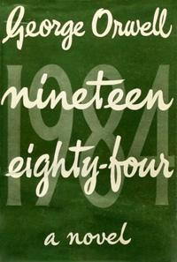 """Корицата на първото издание на """"1984"""""""