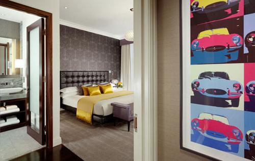 Хотелска стая за феновете на Jaguar