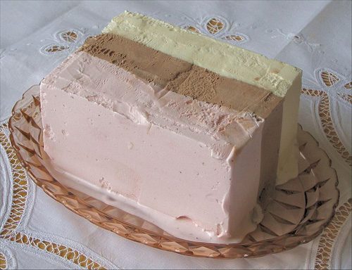 Неаполитански сладолед