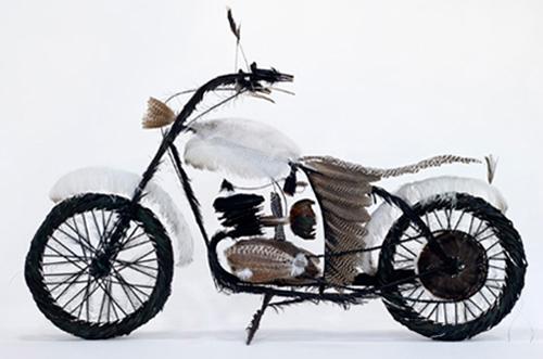 Велосипед от пера