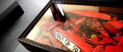 Масичка за кафе от катастрофирало Ferrari