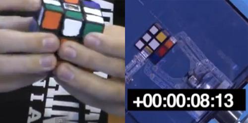 Кубчето на Рубик: човекът срещу машината