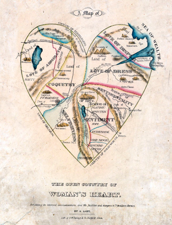 Карта на женското сърце