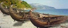 Персийските кораби при Маратон