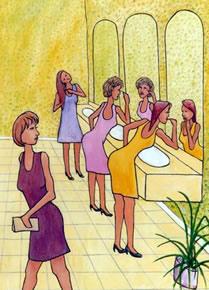 Женска тоалетна