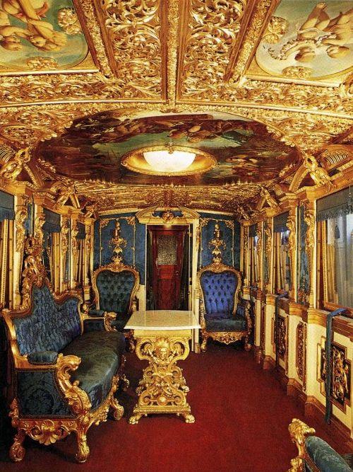 Влакът на крал Лудвиг Втори Баварски от 1860 г.