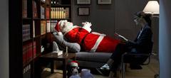Дядо Коледа на психотерапия
