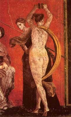Помпей, танцьорка