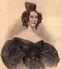 Португалската кралица Мария II