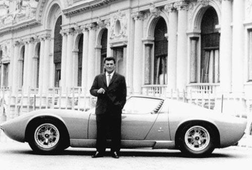 Феручо Ламборгини с Lamborghini Miura