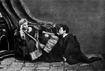 Леополд фон Захер-Мазох и Фани Пистор