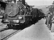 Пристигащият влак на братя Люмиер