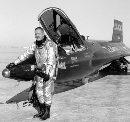 Нийл Армстронг като пилот на X-15