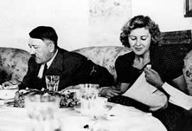 Хитлер и Ева Браун