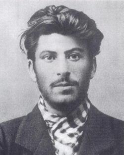 Йосиф Джугашвили през 1902 г.