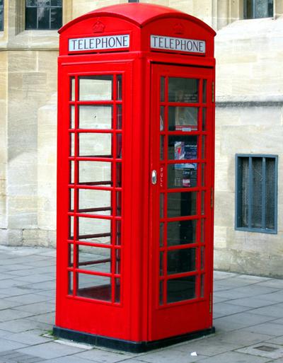 Телефонна кабина