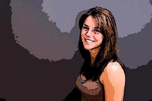 Усмихнато момиче